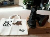 Doc Martens Boots (UK Size 9) (Nearly New)
