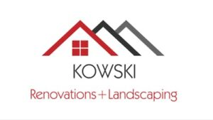 Kowski construction and landscaping services