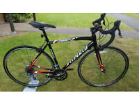 Specialized Allez Road Bike / Black/Red / Size Medium 56cm / Plus Accessories + SPD-SL Pedals