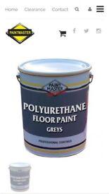 Workshop/garage polyurethane paint 9colours from £45 for 20lt