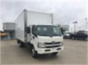 2015 HINO 195 20FT DRY BOX WITH RAMP (Just 65,000 kms)