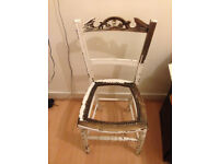 Decorative Chair for Upcycling Project