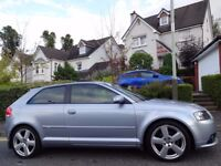 STUNNING! MEGA SPEC (57) AUDI A3 S Line 2.0 TDi 3dr LOW MILEAGE/ONE OWNER/FSH + £6450 Factory Extras