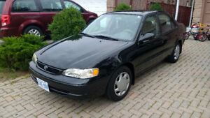 2000 Toyota Corolla LE ONE OWNER NO RUST EXTREMELY CLEAN MINT