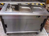 COMMERCIAL HOT CUPBOARD + CATERING BAIN MARIE MACHINE BUFFET KITCHEN CANTEEN DINER CAFETERIA SHOP