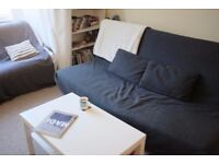 IKEA Beddinge Lövås 3 person sofa bed — Rare charcoal cover