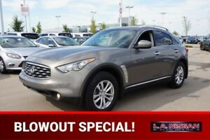2010 INFINITI FX35 ALL WHEEL DRIVE Accident Free,  Navigation (G