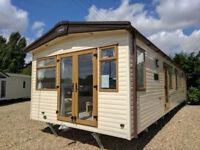 2017 NEW ABI Elan Static Caravan | 38x12 2 beds | Full Winter Pack | ON/OFF SITE