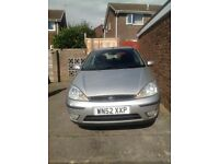 Ford Focus 1600 two door silver