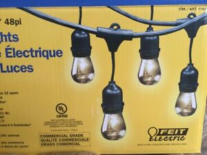 Brand New Bulbs for Outdoor String Lights