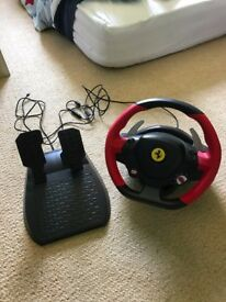 Ferrari Thrustmaster Xbox One Racing Wheel