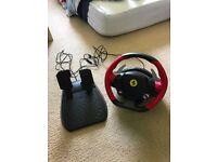 Ferrari Thrustmaster Xbox One Racing Wheel