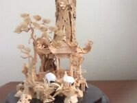 Chinese Cork Carving