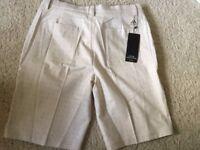 Brand new with tags - Men's Adidas golf shorts - Medium