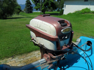 1958 Johnson 35 HP Outboard  Model RD-20
