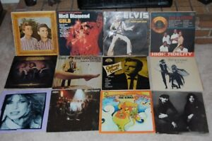 OLD LP Collectable Records HUNDREDS from 1960 &70 collecting i