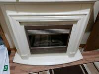 Fire place electric heater