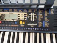 Jamaha keyboard with stand