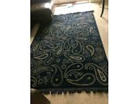 Ikea Vilsund blue rug
