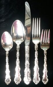 Silver Cutlery Set for 8