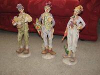 Leonardo Circus clown collection.