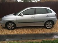Seat ibiza in immaculate condition.