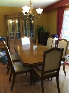 Beautiful Wood Dining Room Set