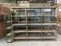 8 units of warehouse racks price reduced for quick collection