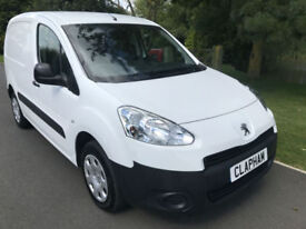 2015 15 PEUGEOT PARTNER PROFESSIONAL 850 1.6 HDI 90 BHP 3 SEATS FREE UK DELIVERY
