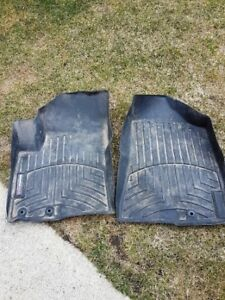 2011 Kia Sorento weather tech floor mats.