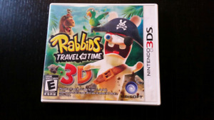 Rabbids Travel In Time for 3DS - CIB