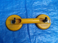 Veribor Dual Suction Cup Glass Tile lifter FREE LOCAL DELIVERY