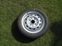 Unused Car Wheel And Unused Tyre 155 /65 by 13 Weymouth