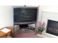 "Panasonic 34"" TV Free to Collector"