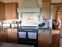 Solid wood large kitchen available for sale - perfect for a landlord