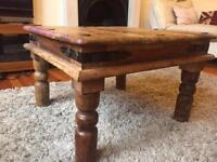 Small Indian style coffee table