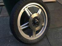 Honda CB 250/400 front wheel