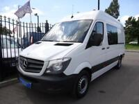 2014 64 MERCEDES-BENZ SPRINTER 2.1TD 313CDI MWB WELFARE / MESSING UNIT