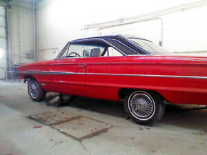 Restored 1964 ford galaxie 500 XL 390 high performance 4 speed