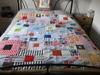 Homemade Patchwork Quilt