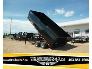 New 20ft Tandem Dual HD Gooseneck Dump -