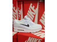 White & Black Nike Trainers Brand New