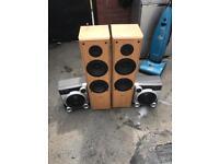 100 watt speakers