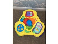 Baby stand up play station