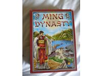 Ming Dynasty Board Game - Excellent Condition