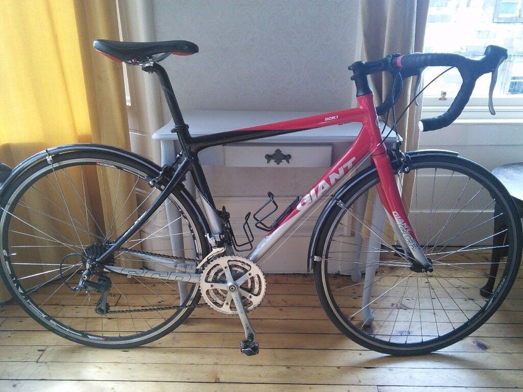 Giant Scr 3 Road Bike Winter Ready With Mudguards 54 Cm Frame