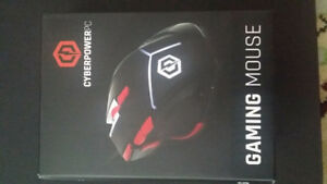 Cyberpowerpc 4000 dpi gaming mouse, brand new in box