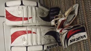 "Vaughn 34"" Pads and Blocker and Trapper"