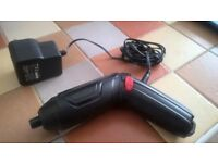 Cordless Screwdriver with charger just £7