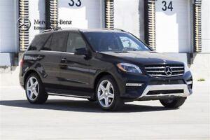 2015 Mercedes-Benz ML350 BlueTEC 4MATIC Premium & Sport Package